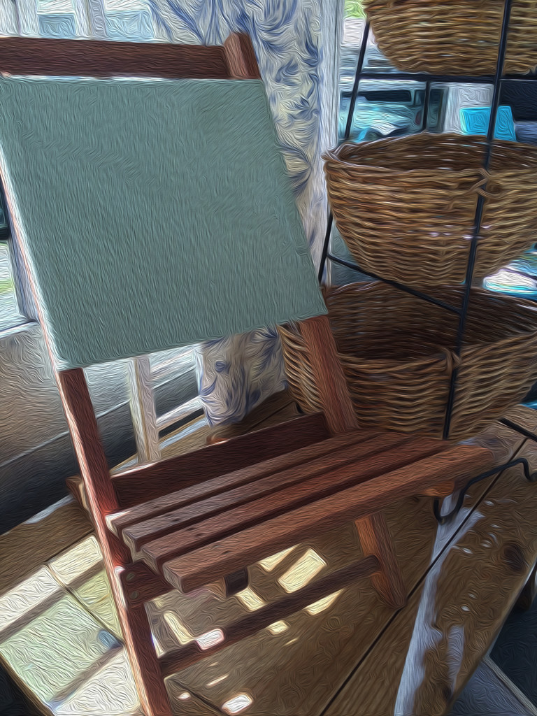 Chair and Basket in Oil