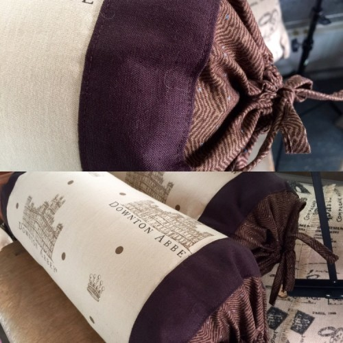 Downton Abbey Bolster Cushions
